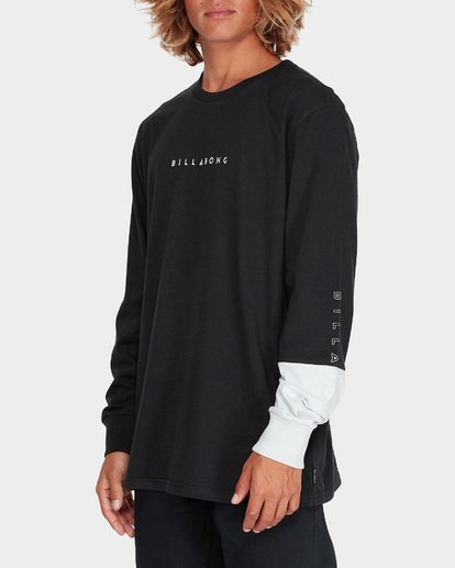 1 SPLIT SALAD LONG SLEEVE TEE Black 9595171 Billabong