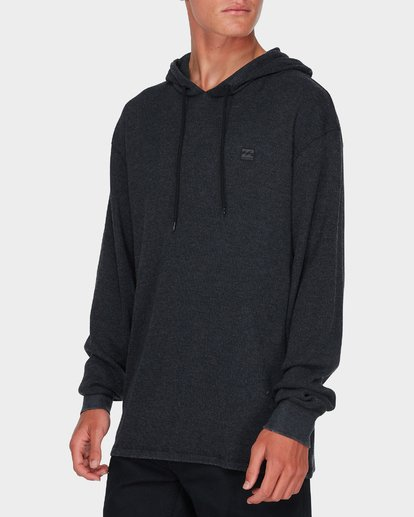 1 KEYSTONE PULL OVER HOODY TEE Black 9595180 Billabong