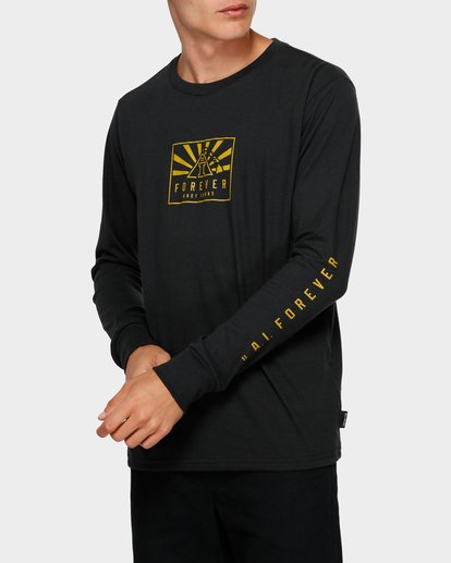 1 Forever Long Sleeve Tee Black 9595186 Billabong