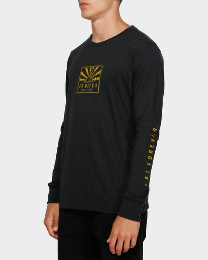 2 Forever Long Sleeve Tee Black 9595186 Billabong