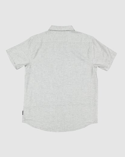 6 All Day Short Sleeve Shirt Grey 9595201 Billabong