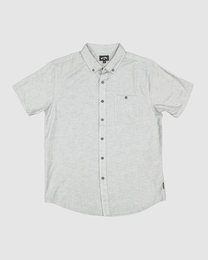 5 All Day Short Sleeve Shirt Grey 9595201 Billabong