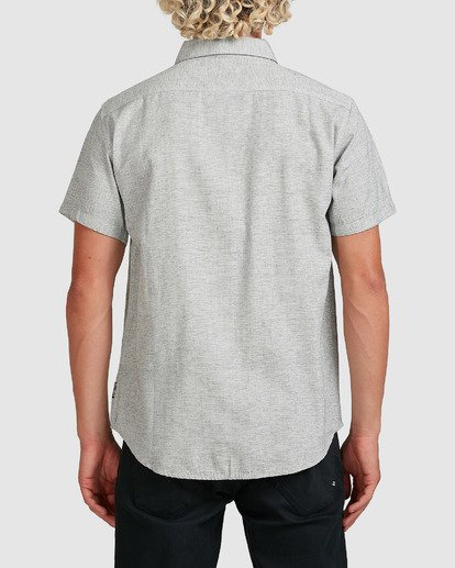 3 All Day Short Sleeve Shirt Grey 9595201 Billabong