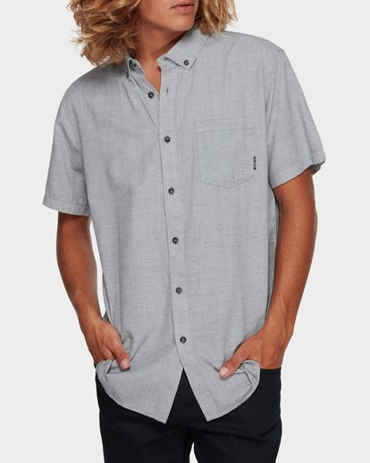 1 All Day Short Sleeve Shirt Grey 9595201 Billabong