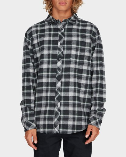 0 COASTLINE LONG SLEEVE SHIRT Black 9595208 Billabong