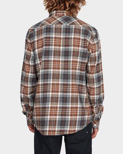 2 Coastline Long Sleeve Shirt Green 9595208 Billabong