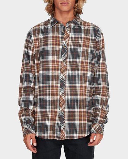 0 Coastline Long Sleeve Shirt Green 9595208 Billabong
