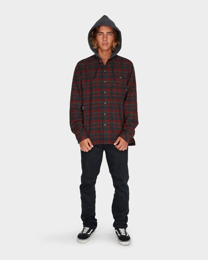 4 BAJA FLANNEL SHIRT Red 9595213 Billabong