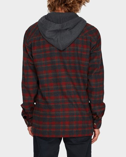 2 BAJA FLANNEL SHIRT Red 9595213 Billabong
