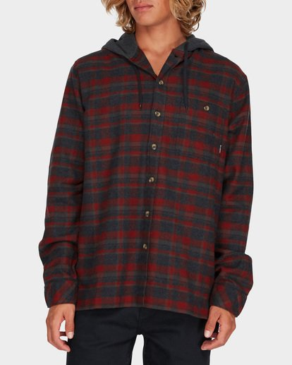 0 BAJA FLANNEL SHIRT Red 9595213 Billabong