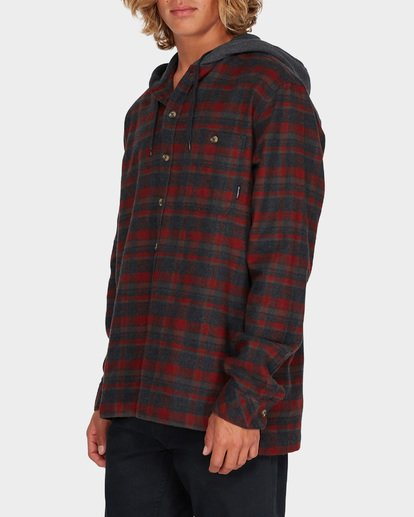 1 BAJA FLANNEL SHIRT Red 9595213 Billabong