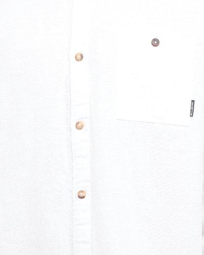 5 LINEN LONG SLEEVE SHIRT White 9595217 Billabong