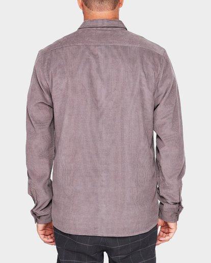 2 ROY MINI CORD LS Grey 9595236M Billabong