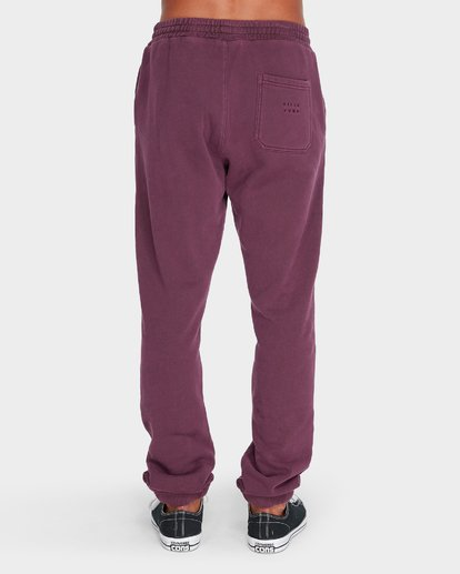 1 WORDSMITH FLEECE TRACKPANT Red 9595307 Billabong