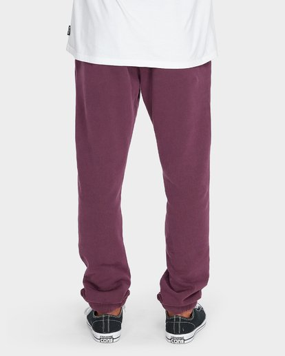 4 WORDSMITH FLEECE TRACKPANT Red 9595307 Billabong