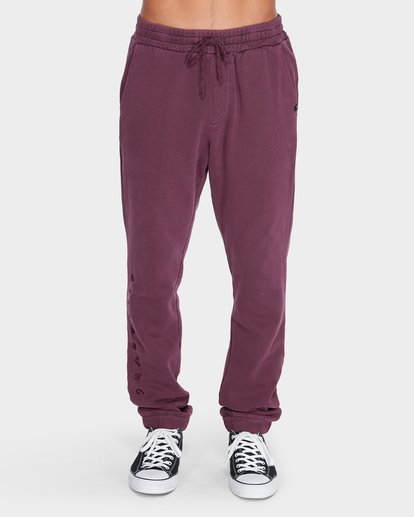 0 WORDSMITH FLEECE TRACKPANT Red 9595307 Billabong