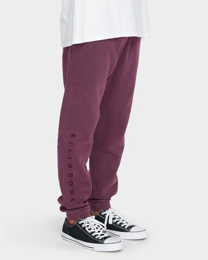 5 WORDSMITH FLEECE TRACKPANT Red 9595307 Billabong