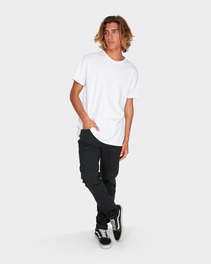 6 Outsider Tapered Jeans Black 9595351 Billabong