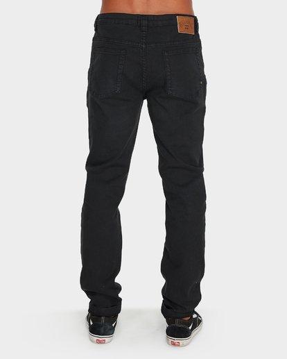2 Outsider Tapered Jeans Black 9595351 Billabong