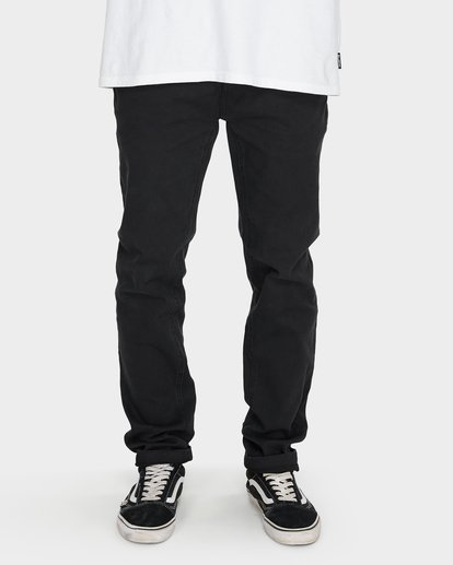 3 Outsider Tapered Jeans Black 9595351 Billabong