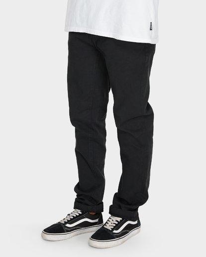 4 Outsider Tapered Jeans Black 9595351 Billabong
