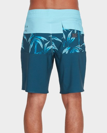 "2 TRIBONG BAMBOO 19"" PRO BOARDSHORT Blue 9595402 Billabong"