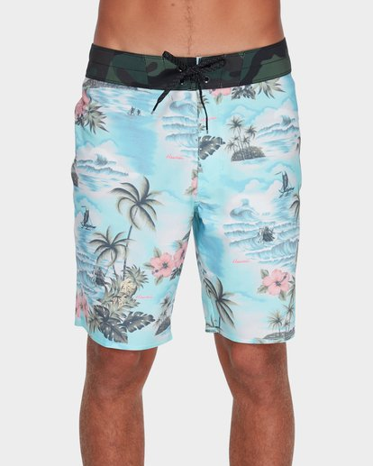"0 Sundays Airlite 19"" Boardshorts Green 9595404 Billabong"