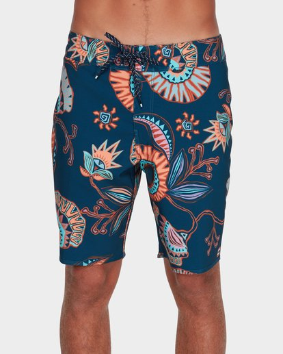 "0 SUNDAYS AIRLITE 19"" BOARDSHORTS Blue 9595404 Billabong"