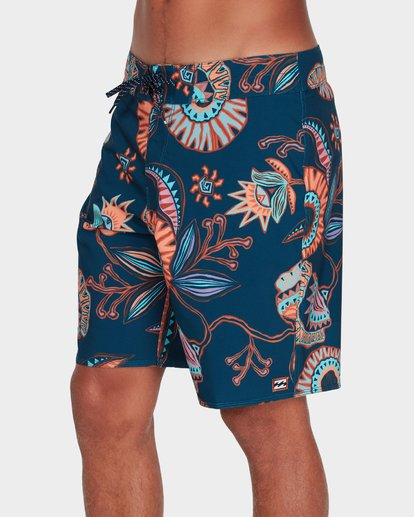 "1 SUNDAYS AIRLITE 19"" BOARDSHORTS Blue 9595404 Billabong"