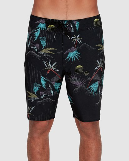 "2 SUNDAYS PRO 18"" BOARDSHORTS Black 9595405 Billabong"