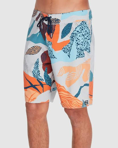 "1 Sundays Pro 18"" Boardshorts Grey 9595405 Billabong"