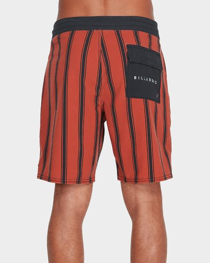 "2 SUNDAYS VERTICAL 18"" BOARDSHORT Red 9595408 Billabong"