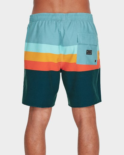 "2 MOMENTUM LAYBACKS 17"" BOARDSHORT Blue 9595420 Billabong"