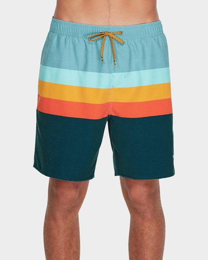 "0 MOMENTUM LAYBACKS 17"" BOARDSHORT Blue 9595420 Billabong"