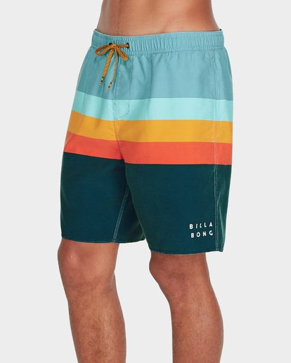 "1 MOMENTUM LAYBACKS 17"" BOARDSHORT Blue 9595420 Billabong"