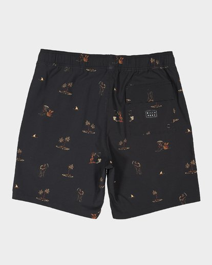 "1 SUNDAYS 17"" LAYBACKS BOARDSHORT  9595422 Billabong"