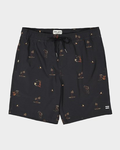 "0 SUNDAYS 17"" LAYBACKS BOARDSHORT  9595422 Billabong"