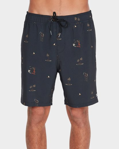 "2 SUNDAYS 17"" LAYBACKS BOARDSHORT  9595422 Billabong"