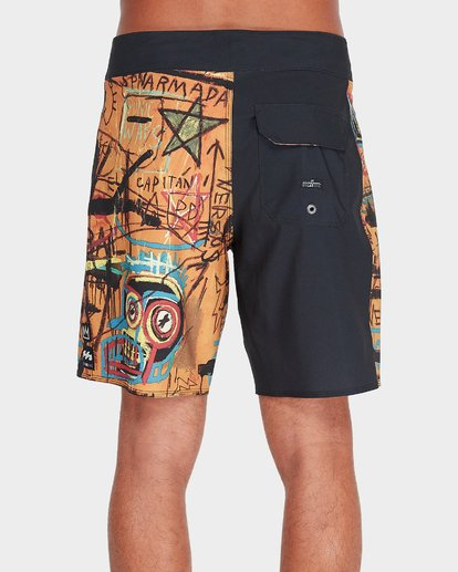 3 Hannibal Pro Boardshorts Orange 9595451 Billabong