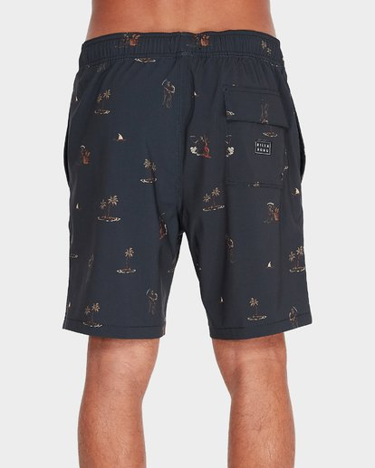2 CIGARS LO TIDE BOARDSHORTS Black 9595452 Billabong