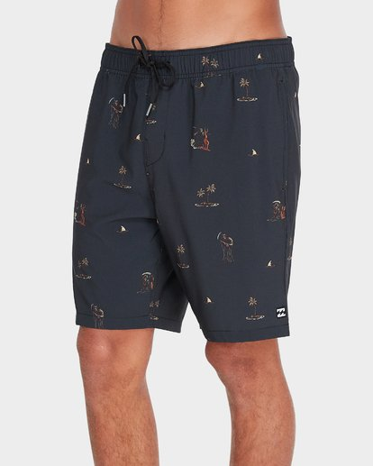 1 CIGARS LO TIDE BOARDSHORTS Black 9595452 Billabong