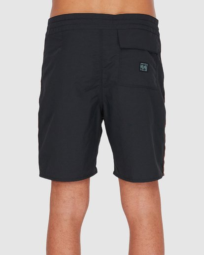"2 ATLAS JACQUARD 19"" PRO BOARDSHORT Black 9595455 Billabong"