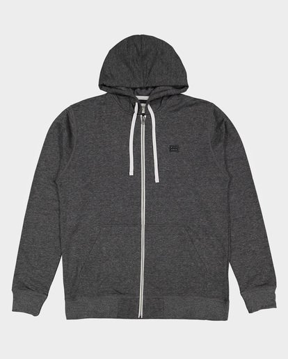 3 All Day Zip Hoodie Black 9595605 Billabong
