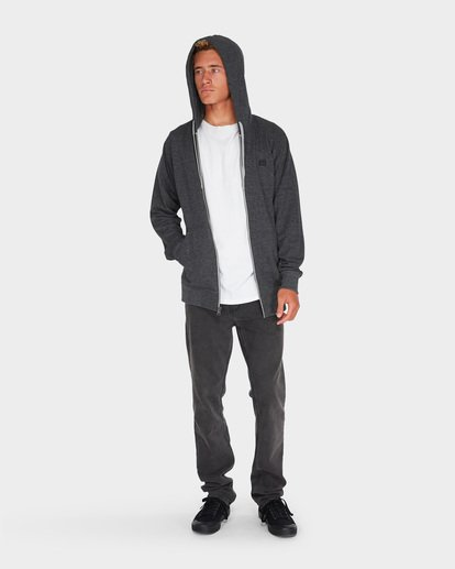 4 ALL DAY ZIP HDY Black 9595605 Billabong