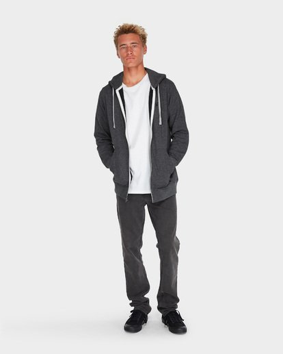 5 All Day Zip Hoodie Black 9595605 Billabong