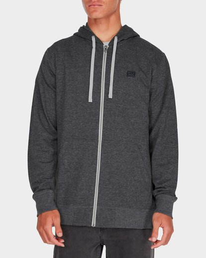 0 ALL DAY ZIP HDY Black 9595605 Billabong