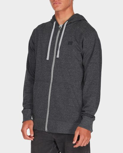1 ALL DAY ZIP HDY Black 9595605 Billabong