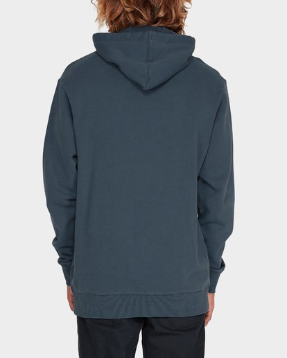2 DIE CUT OVERDYE POP HOOD Blue 9595607 Billabong