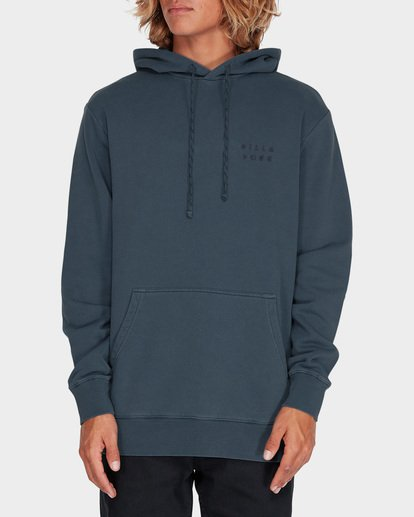 0 DIE CUT OVERDYE POP HOOD Blue 9595607 Billabong