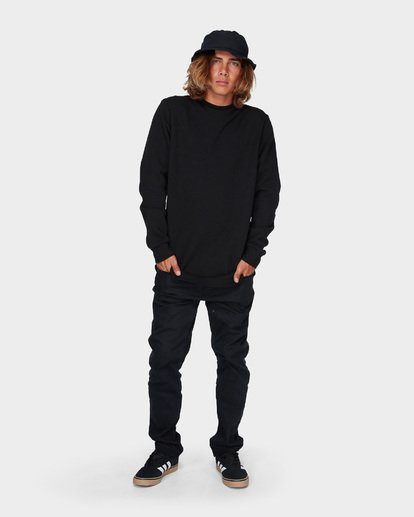4 OD CREW Black 9595616 Billabong
